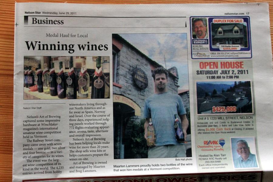Wine maker international amateur competition vermont